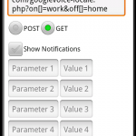 Configuring the HTTP Post settings